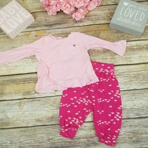 ⬇$35 Zara Baby Girl & Gap Fishy Outfit Pink 3-6